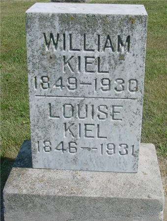 KIEL, WILLIAM & LOUISE - Ida County, Iowa | WILLIAM & LOUISE KIEL