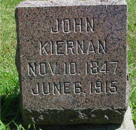 KIERNAN, JOHN - Ida County, Iowa   JOHN KIERNAN