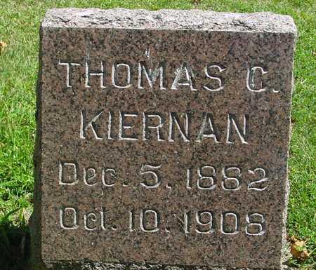KIERNAN, THOMAS C. - Ida County, Iowa   THOMAS C. KIERNAN