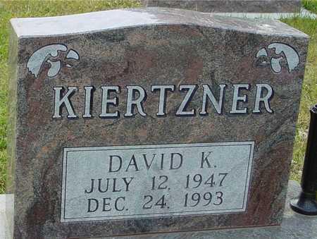 KIERTZNER, DAVID KENDALL - Ida County, Iowa | DAVID KENDALL KIERTZNER