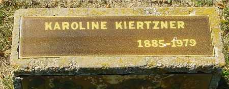 KIERTZNER, KAROLINE - Ida County, Iowa | KAROLINE KIERTZNER