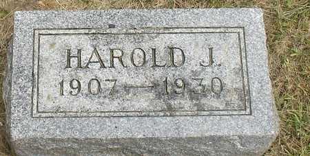KIESLING, HAROLD J. - Ida County, Iowa | HAROLD J. KIESLING