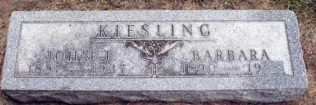 KIESLING, JOHN J. - Ida County, Iowa | JOHN J. KIESLING