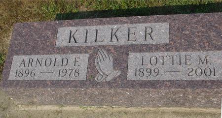 KILKER, ARNOLD F. & LOTTIE - Ida County, Iowa   ARNOLD F. & LOTTIE KILKER