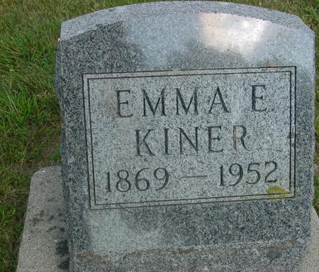 KINER, EMMA E. - Ida County, Iowa   EMMA E. KINER