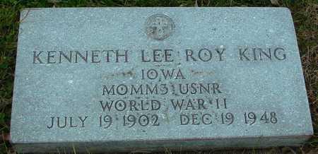 KING, KENNETH LEE ROY - Ida County, Iowa | KENNETH LEE ROY KING