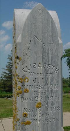 KINGSTON, ELIZABETH - Ida County, Iowa   ELIZABETH KINGSTON