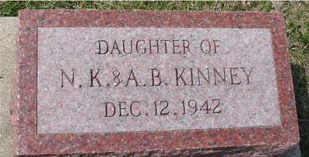 KINNEY, DAUGHTER - Ida County, Iowa | DAUGHTER KINNEY