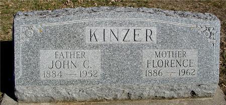 KINZER, JOHN & FLORENCE - Ida County, Iowa | JOHN & FLORENCE KINZER