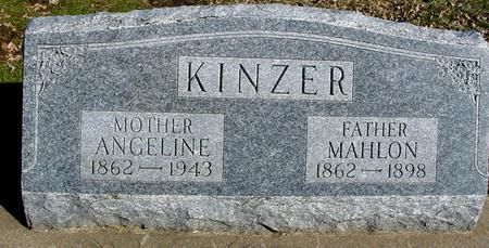 KINZER, MAHLON & ANGELINE - Ida County, Iowa | MAHLON & ANGELINE KINZER
