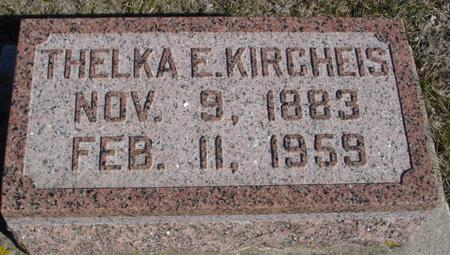 KIRCHEIS, THELKA E. - Ida County, Iowa | THELKA E. KIRCHEIS