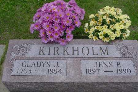 KIRKHOLM, JENS & GLADYS - Ida County, Iowa | JENS & GLADYS KIRKHOLM