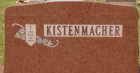 KISTENMACHER, FAMILY MARKER - Ida County, Iowa | FAMILY MARKER KISTENMACHER