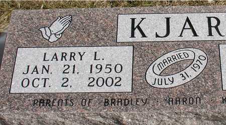 KJAR, LARRY L. - Ida County, Iowa | LARRY L. KJAR