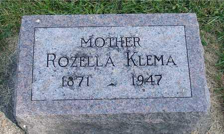 KLEMA, ROZELLA - Ida County, Iowa | ROZELLA KLEMA