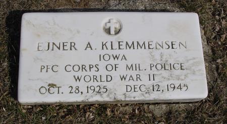 KLEMMENSEN, EJNER A. - Ida County, Iowa | EJNER A. KLEMMENSEN
