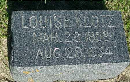 KLOTZ, LOUISE - Ida County, Iowa | LOUISE KLOTZ