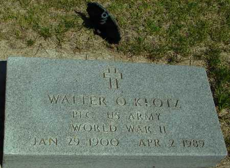 KLOTZ, WALTER O. - Ida County, Iowa | WALTER O. KLOTZ