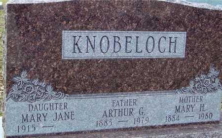KNOBELOCH, ARTHUR & MARY H. - Ida County, Iowa | ARTHUR & MARY H. KNOBELOCH