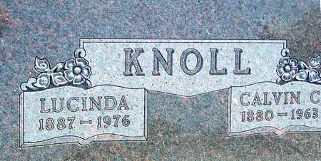 KNOLL, CALVIN & LUCINDA - Ida County, Iowa | CALVIN & LUCINDA KNOLL