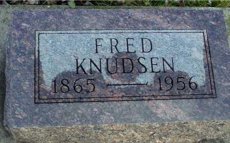 KNUDSEN, FRED - Ida County, Iowa   FRED KNUDSEN