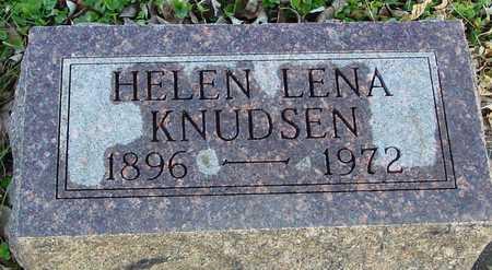 KNUDSEN, HELEN LENA - Ida County, Iowa | HELEN LENA KNUDSEN