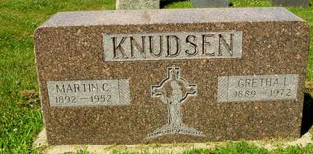 KNUDSEN, MARTIN & GRETHA - Ida County, Iowa | MARTIN & GRETHA KNUDSEN