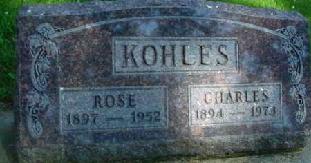 KOHLES, CHARLES & ROSE - Ida County, Iowa | CHARLES & ROSE KOHLES