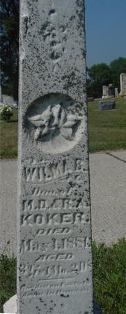 KOKER, WILMAR - Ida County, Iowa   WILMAR KOKER