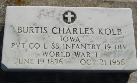 KOLB, BURTIS CHAS. - Ida County, Iowa | BURTIS CHAS. KOLB