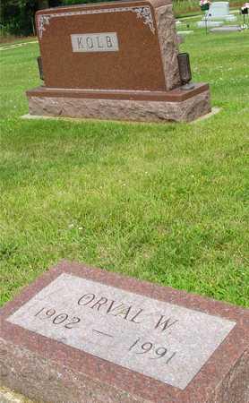 KOLB, ORVAL W. - Ida County, Iowa | ORVAL W. KOLB