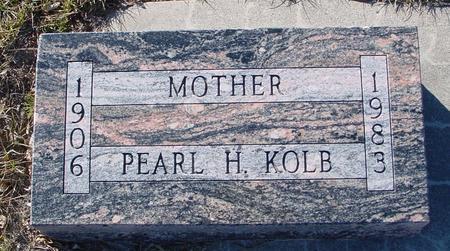 KOLB, PEARL H. - Ida County, Iowa | PEARL H. KOLB