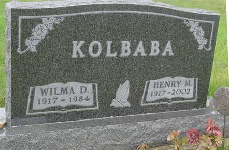 KOLBABA, HENRY M. - Ida County, Iowa | HENRY M. KOLBABA