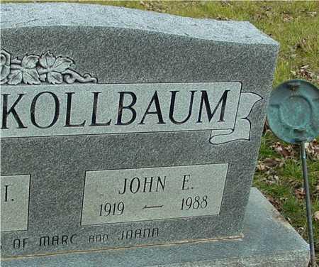 KOLLBAUM, JOHN E. - Ida County, Iowa | JOHN E. KOLLBAUM