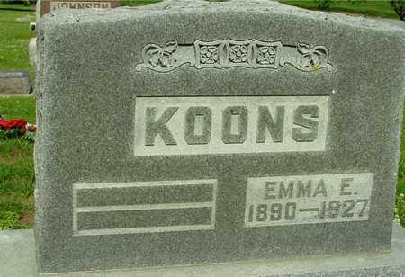 KOONS, EMMA E. - Ida County, Iowa | EMMA E. KOONS
