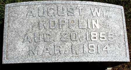 KOPPLIN, AUGUST WILLIAM - Ida County, Iowa   AUGUST WILLIAM KOPPLIN