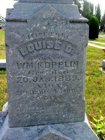 KOPPLIN, LOUISE D. - Ida County, Iowa   LOUISE D. KOPPLIN