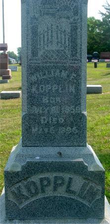 KOPPLIN, WILLIAM F. - Ida County, Iowa   WILLIAM F. KOPPLIN