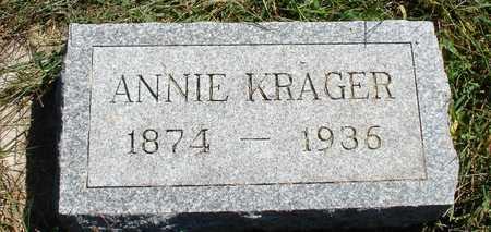 KRAGER, ANNIE - Ida County, Iowa   ANNIE KRAGER