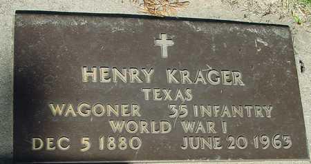 KRAGER, HENRY - Ida County, Iowa   HENRY KRAGER