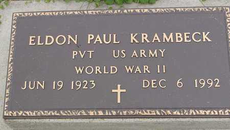 KRAMBECK, ELDON PAUL - Ida County, Iowa   ELDON PAUL KRAMBECK