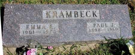 KRAMBECK, PAUL & EMMA - Ida County, Iowa | PAUL & EMMA KRAMBECK