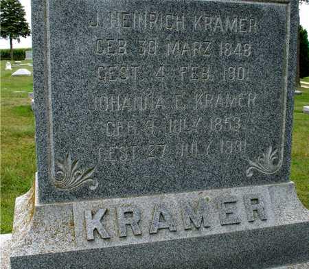 KRAMER, J. HEINRICH & JOHANNA - Ida County, Iowa | J. HEINRICH & JOHANNA KRAMER