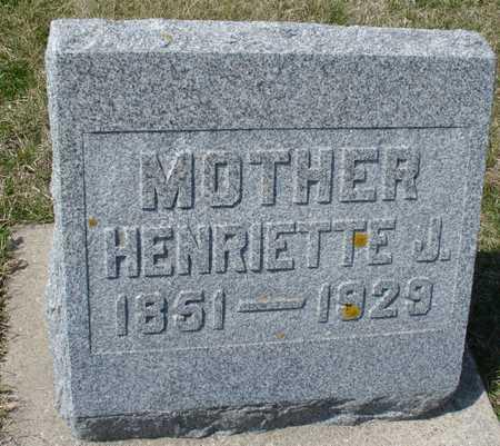 KRAUSE, HENRIETTA J. - Ida County, Iowa | HENRIETTA J. KRAUSE