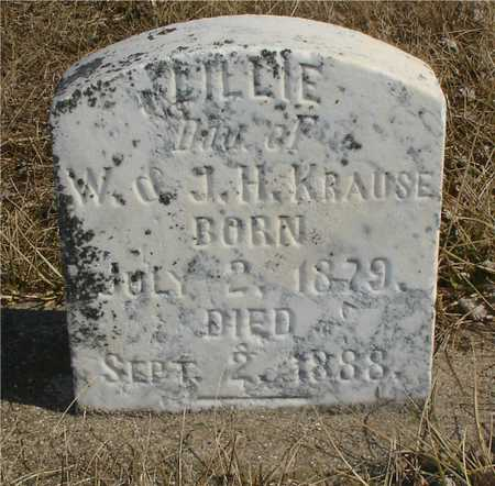 KRAUSE, LILLIE - Ida County, Iowa | LILLIE KRAUSE