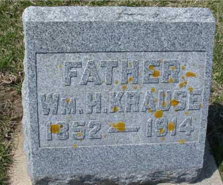 KRAUSE, WILLIAM H. - Ida County, Iowa   WILLIAM H. KRAUSE