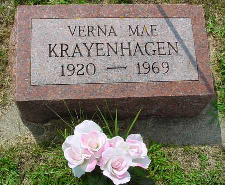 KRAYENHAGEN, VERNA MAE - Ida County, Iowa | VERNA MAE KRAYENHAGEN