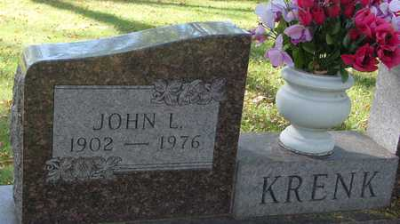 KRENK, JOHN L. - Ida County, Iowa | JOHN L. KRENK
