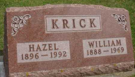 KRICK, WILLIAM & HAZEL - Ida County, Iowa   WILLIAM & HAZEL KRICK