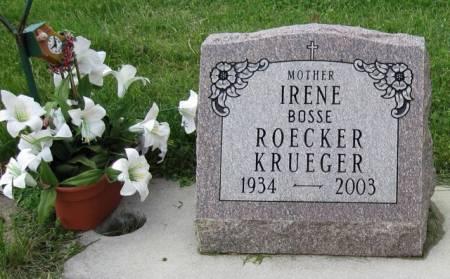 KRUEGER, IRENE - Ida County, Iowa | IRENE KRUEGER